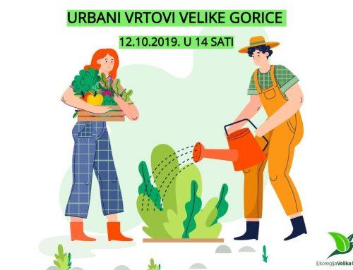 Urbani vrtovi Velike Gorice 12.10.2019.
