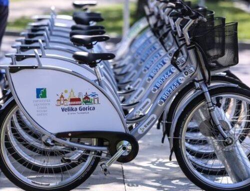 2 sata besplatne vožnje gradskim biciklima u Velikoj Gorici tijekom rujna!